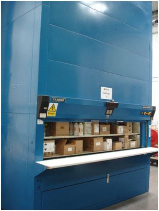 Kardex Sys 251 33 12 Industriever Storage Carousel