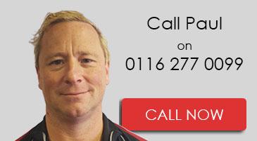 Call Paul on 0116 277 0099